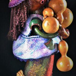 Contemporary Spirit Doll Gourd Photo