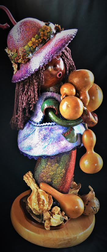 Contemporary Spirit Doll Gourd Photo