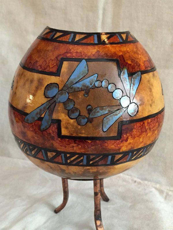 Dragonfly Vase Gourd Photo